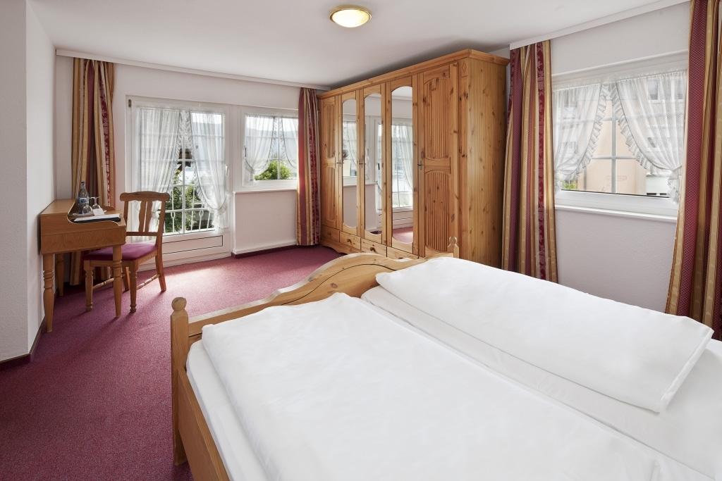 Zimmerbeispiel im Hotel Schiff am Schluchsee